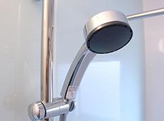 マイクロバブルの出るシャワーヘッド